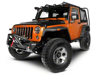 Rugged Ridge Exploration Exterior Restyling Package (13-18 Jeep Wrangler JK 2 Door)