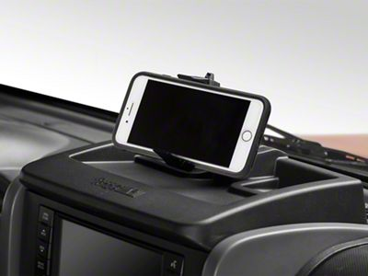 Rugged Ridge Dash Multi-Mount Storage System & Phone Kit (07-10 Jeep Wrangler JK)