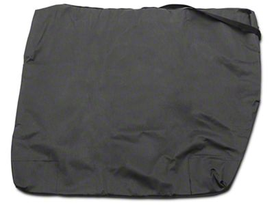 Rugged Ridge Freedom Panel Storage Bag - Black Vinyl (07-19 Jeep Wrangler JK & JL)