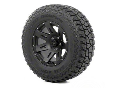 Rugged Ridge XHD Wheel 17x9 Black Satin and Mickey Thompson ATZ P3 305/65R17 Tire (07-18 Jeep Wrangler JK)