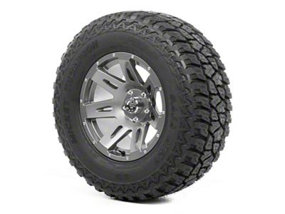 Rugged Ridge XHD Wheel 17x9 Gun Metal and Mickey Thompson ATZ P3 305/65R17 Tire (07-18 Jeep Wrangler JK)
