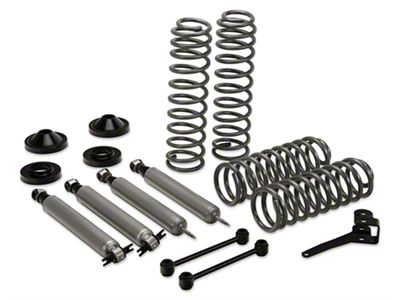 Rough Country 3.25 in. Suspension Lift Kit w/ Shocks (07-18 Jeep Wrangler JK 2 Door)