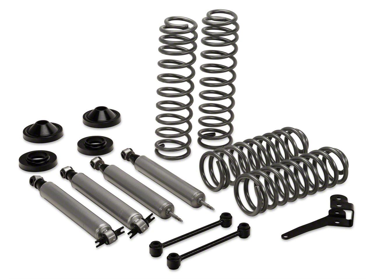 Rough Country 3.25 in. Suspension Lift Kit w/ Shocks (07-18 Jeep Wrangler JK 2 Door)
