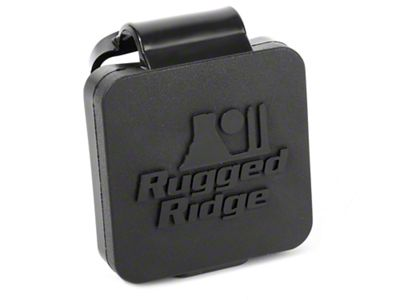 Rugged Ridge Logo 2 in. Hitch Plug (87-19 Jeep Wrangler YJ, TJ, JK & JL)
