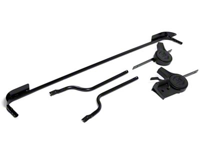 Rugged Ridge Soft Top Spring Assist Assembly (07-12 Jeep Wrangler JK 4 Door)