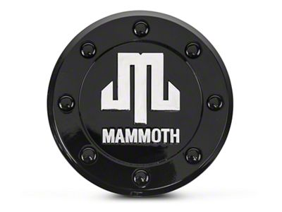 Mammoth 8 Center Cap (07-18 Jeep Wrangler JK; 2018 Jeep Wrangler JL)