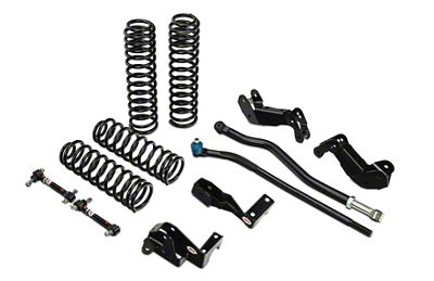 JKS Jspec 3.5 in. JKontrol Lift Kit (07-18 Jeep Wrangler JK 2 Door)