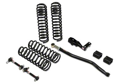 JKS Jspec 2.5 in. Lift Kit (07-18 Jeep Wrangler JK 4 Door)