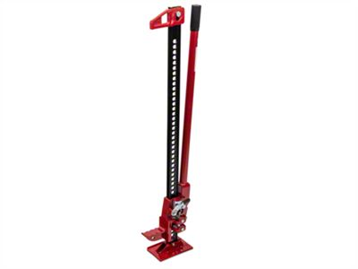 RedRock 4x4 42 in. Extreme Recovery Jack - Red