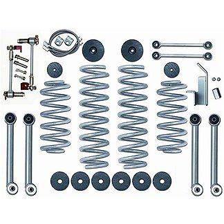 Rubicon Express 3.5 in. Super-Flex Lift Kit w/o Shocks (97-06 Jeep Wrangler TJ)