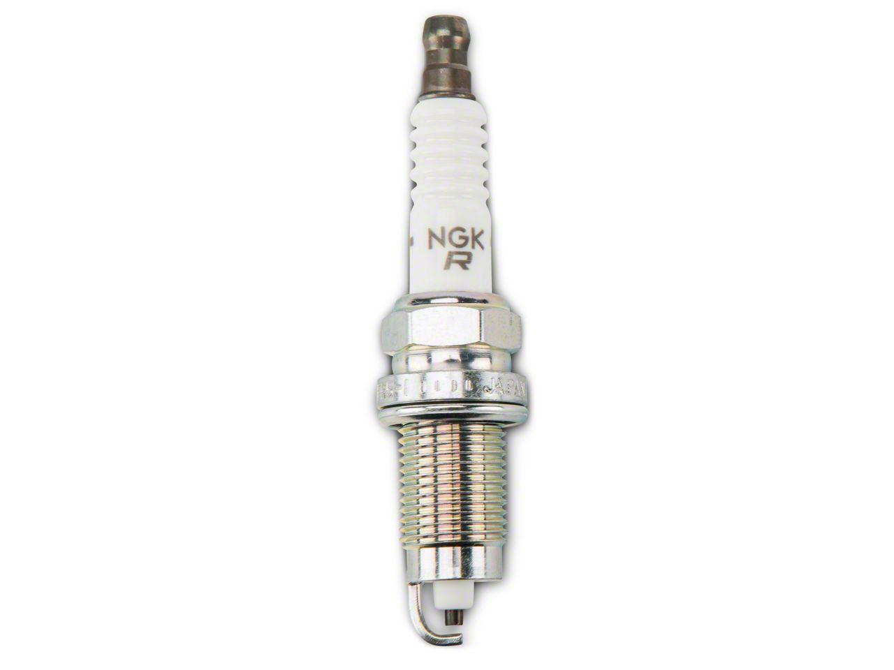 NGK V-Power Spark Plug - 2.5L/4.0L (87-02 2.5L, 91-98 4.0L Jeep Wrangler TJ & YJ)