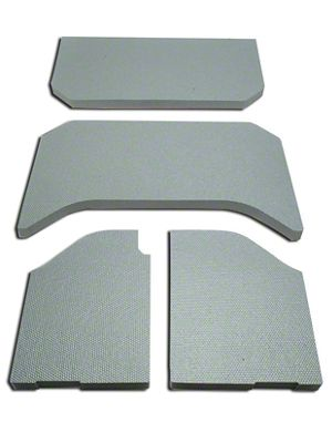 Boom Mat Sound Deadening Headliner - Gray (11-18 Jeep Wrangler JK 4 Door)