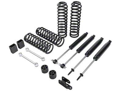 Zone Offroad 3 in. Lift Kit w/ Nitro Shocks (07-18 Jeep Wrangler JK 4 Door)