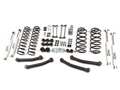 Zone Offroad 4 in. Lift Kit w/ Hydro Shocks (03-06 Jeep Wrangler TJ)