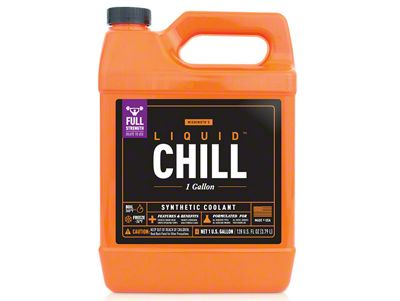 Mishimoto Liquid Chill Performance Coolant - Full-Strength - One Gallon (87-18 Jeep Wrangler YJ, TJ, JK & JL)