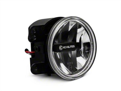 KC HiLiTES 4 in. Gravity G4 Clear LED Replacement Fog Light (07-09 Jeep Wrangler JK)