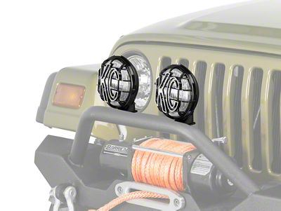 KC HiLiTES 6 in. Apollo Pro Replacement Fog Light (97-04 Jeep Wrangler TJ)