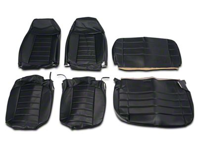 OPR Vinyl Seat Covers - Black (87-95 Jeep Wrangler YJ)