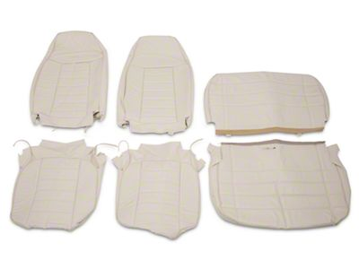OPR Vinyl Seat Covers - White (87-95 Jeep Wrangler YJ)
