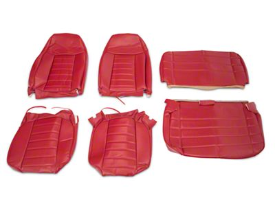 OPR Vinyl Seat Covers - Red (87-95 Jeep Wrangler YJ)