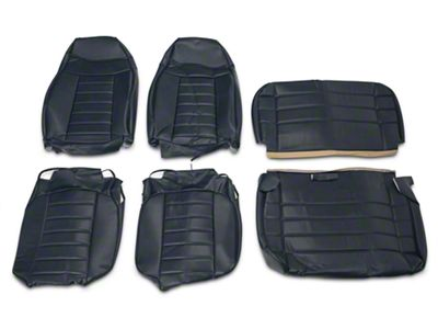 OPR Vinyl Seat Covers - Dark Blue (87-95 Jeep Wrangler YJ)