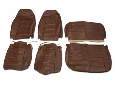OPR Vinyl Seat Covers - Saddle (87-95 Jeep Wrangler YJ)