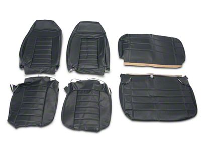 OPR Vinyl Seat Covers - Dark Charcoal (87-95 Jeep Wrangler YJ)