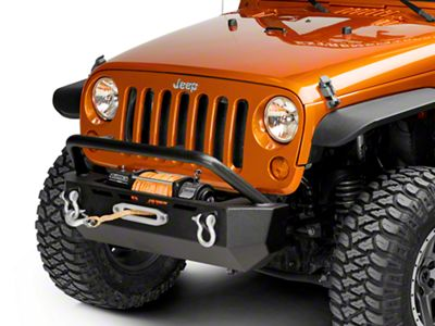 Barricade Extreme HD Stubby Front Bumper (07-18 Jeep Wrangler JK)
