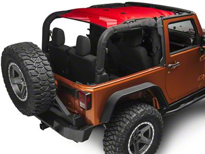 Rugged Ridge Eclipse Sun Shade - Red (07-18 Jeep Wrangler JK 2 Door)