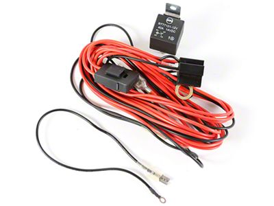 Rugged Ridge Wiring Harness for 2 HID Offroad Fog Lights (87-18 Jeep Wrangler YJ, TJ, JK & JL)