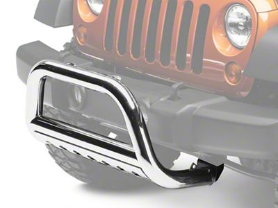 Rugged Ridge 3 in. Stainless Steel Bull Bar (07-09 Jeep Wrangler JK)