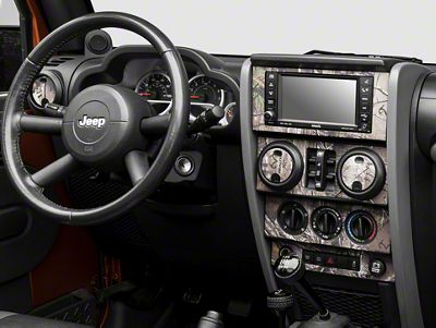 Real Tree Camo Dash Kit (07-10 Jeep Wrangler JK)