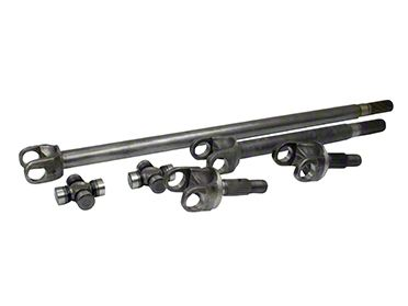 Yukon Gear 4340 Chrome-Moly Replacement Front Axle Kit - Dana 30 (07-18 Jeep Wrangler JK)
