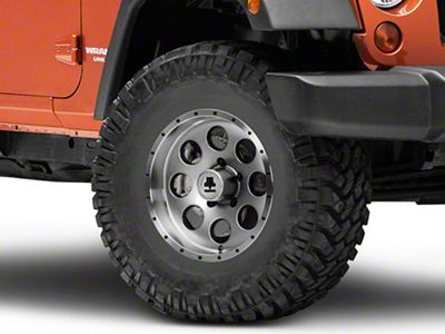 Mammoth 8 Beadlock Style Anthracite Wheel - 16x8 (07-18 Jeep Wrangler JK)