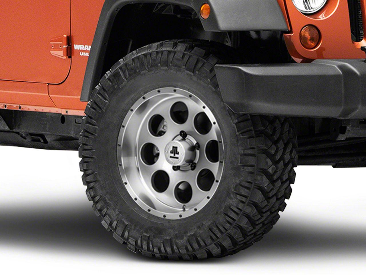 Mammoth 8 Beadlock Style Anthracite Wheel - 17x9 (07-18 Jeep Wrangler JK; 2018 Jeep Wrangler JL)