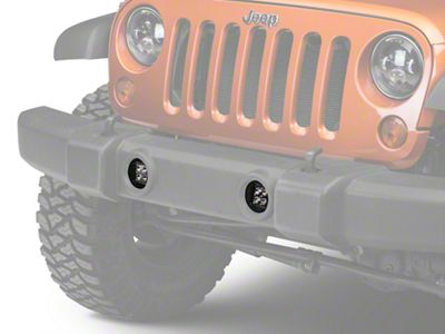 Rigid Industries D-Series Bumper Fog Light Mount (07-18 Jeep Wrangler JK)