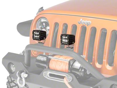 Rigid Industries D2 Series LED Light Cube - Driving Beam
