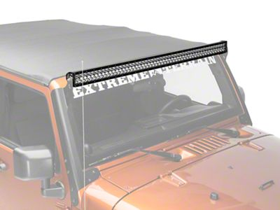 Rigid Industries 50 in. E Series LED Light Bar - Spot Beam
