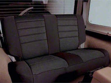 Smittybilt Neoprene Seat Cover Set Front/Rear - Black (97-06 Jeep Wrangler TJ)