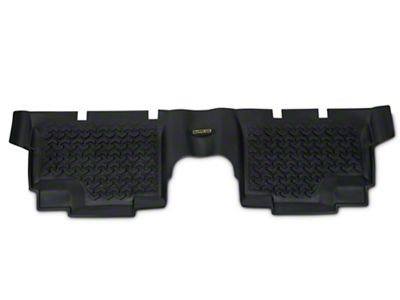 Barricade Rear Floor Liner - Black (07-18 Jeep Wrangler JK 4 Door)