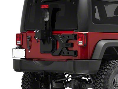 Rugged Ridge Spartacus HD Tire Carrier Kit (07-18 Jeep Wrangler JK)