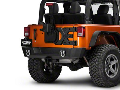 Rugged Ridge Spartacus HD Tire Carrier - Hinge (07-18 Jeep Wrangler JK)