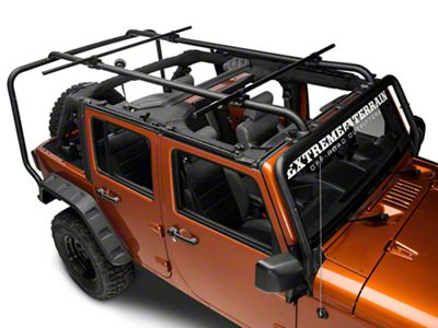 Rugged Ridge Sherpa Roof Rack Kit (07-18 Jeep Wrangler JK 4 Door)