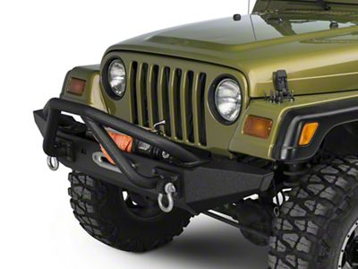 Rugged Ridge XHD Front Bumper Kit w/ Striker Bar & Standard Bumper Ends (87-06 Jeep Wrangler TJ & YJ)