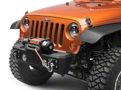 Iron Cross Stubby Front Base Bumper (07-18 Jeep Wrangler JK)