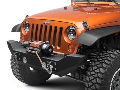 Iron Cross Full Size Front Base Bumper (07-18 Jeep Wrangler JK)