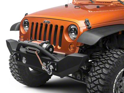 Iron Cross Full Size Front Bumper With Push Bar (07-18 Jeep Wrangler JK)