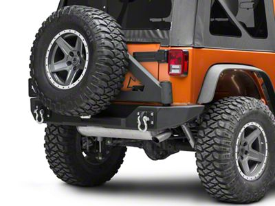 Iron Cross Full Size Rear Bumper Tire Carrier (07-18 Jeep Wrangler JK)