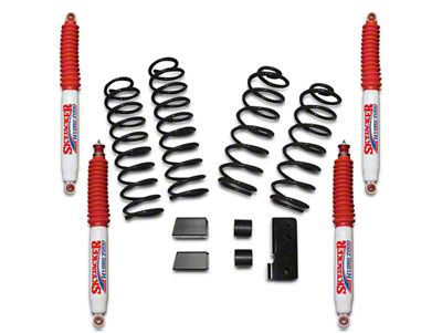 SkyJacker 2.5 in. Softride Lift Kit w/ Hydro Shocks (07-18 Jeep Wrangler JK 2 Door)