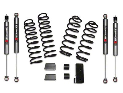 SkyJacker 2.5 in. Softride Lift Kit w/ M95 Shocks (07-18 Jeep Wrangler JK 2 Door)